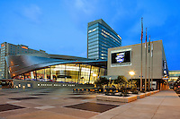 The NASCAR Hall of Fame located in Uptown Charlotte is a 150,000-square-foot  interactive, entertainment attraction honoring the history and heritage of NASCAR.