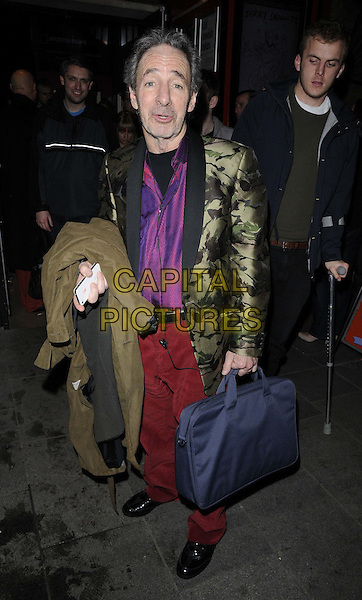 LONDON, ENGLAND - NOVEMBER 30: Harry Shearer attends the Harry Shearer's Holiday Sing-Along, Leicester Square Theatre, Leicester Place, on Saturday November 30, 2013 in London, England, UK.<br /> CAP/CAN<br /> ©Can Nguyen/Capital Pictures