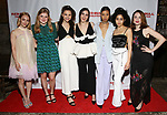AnnaSophia Robb, Sophie Kelly-Hedrick, Lily Santiago, Isabelle Fuhrman, Ayana Workman, Sharlene Cruz and Ismenia Mendes attends the Opening Night Party for Red Bull Theater's All-Female MAC BETH at Houston Hall on May 19, 2019 in New York City.