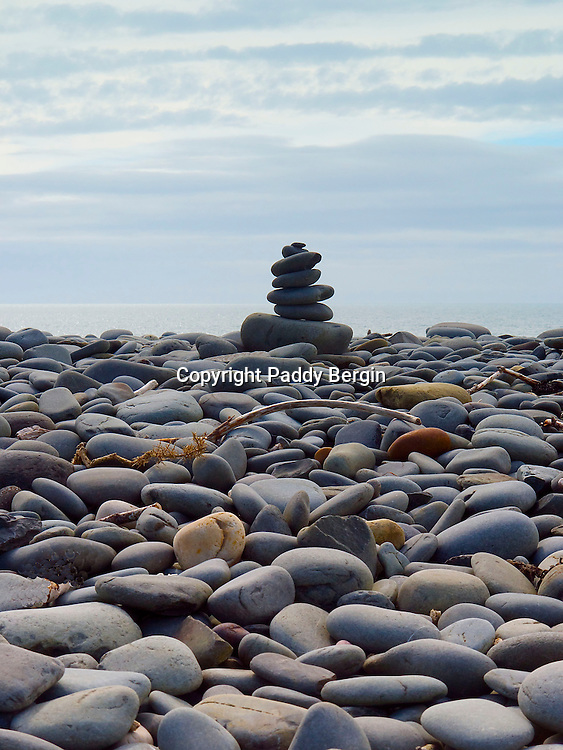 A cairn is a man-made pile (or stack) of stones. The word cairn comes from the Scottish Gaelic: càrn. <br />