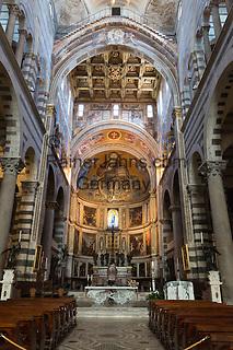 Italy, Tuscany, Pisa: Interior of the Duomo   Italien, Toskana, Pisa: Dom, Innenansicht