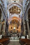 Italy, Tuscany, Pisa: Interior of the Duomo | Italien, Toskana, Pisa: Dom, Innenansicht