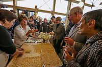 Amatrice 02/04/2017. Il Principe Carlo del Galles in visita nella zona terremotata di Amatrice<br /> Amatrice April 2nd 2017. Prince Charles of Wales visits Amatrice, hit by the earthquake of 24 August. <br /> Foto Pool / Protezione Civile / Insidefoto