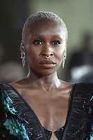 Cynthia Erivo attending The Last Duel Premiere as part of the 78th Venice International Film Festival in Venice, Italy on September 10, 2021. <br /> CAP/MPIIS<br /> ©MPIIS/Capital Pictures