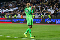 Nick Pope of England celebrates after the UEFA Euro 2020 Qualifying Group A match between Kosovo and England at Fadil Vokrri Stadium on November 17th 2019 in Pristina, Kosovo. (Photo by Daniel Chesterton/phcimages.com)<br /> Photo PHC Images / Insidefoto <br /> ITALY ONLY