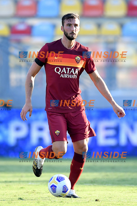 Bryan Cristante of AS Roma during the friendly football match between Frosinone calcio and AS Roma at Benito Stirpe stadium in Frosinone (Italy), September 9th, 2020. AS Roma won 4-1 over Frosinone Calcio. Photo Andrea Staccioli / Insidefoto