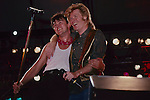 Daryl Hall  Paul Young performing live at Pier 84, NY NY -Aug 1985