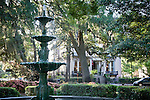 Lafayette Square, Savannah, GA, the largest National Historic Landmark District in the United States.
