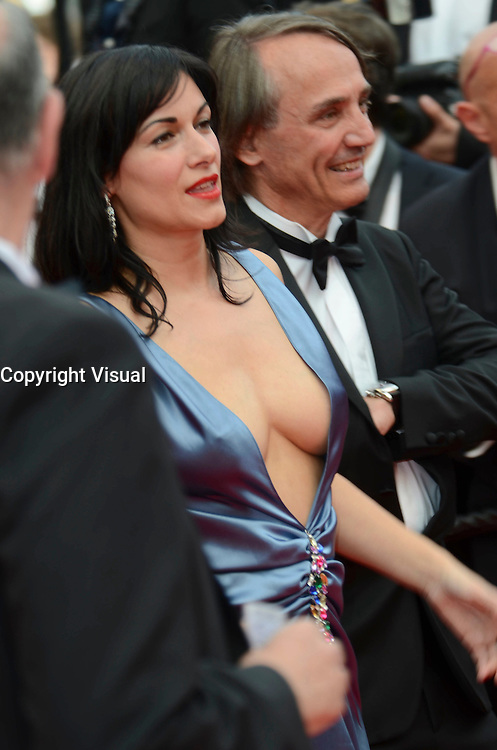 attend the closing ceremony of the 69th annual Cannes Film Festival at the Palais des Festivals on May 22, 2016 in Cannes, France.