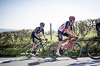 Harm Vanhoucke (BEL/Lotto Soudal) up the Côte de La Redoute<br /> <br /> 107th Liège-Bastogne-Liège 2021 (1.UWT)<br /> 1 day race from Liège to Liège (259km)<br /> <br /> ©kramon