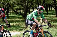 Green Jersey / points leader Sonny Colbrelli (ITA/Bahrain - Victorious)<br /> <br /> 73rd Critérium du Dauphiné 2021 (2.UWT)<br /> Stage 6 from Loriol-sur-Drome to Le Sappey-en-Chartreuse (167km)<br /> <br /> ©kramon