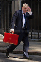 Boris Johnson MP (Secretary of State for Foreign and Commonwealth Affairs).<br />