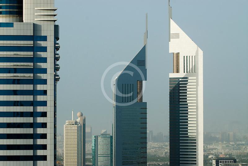 United Arab Emirates, Dubai, Emirates Towers