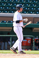 Detroit Tigers catcher Patrick Leyland (13) during a game vs. the Washington Nationals in an Instructional League game at Joker Marchant Stadium in Lakeland, Florida;  October 1, 2010.   Photo By Mike Janes/Four Seam Images