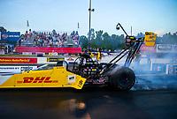 May 4, 2018; Commerce, GA, USA; NHRA top fuel driver Richie Crampton during qualifying for the Southern Nationals at Atlanta Dragway. Mandatory Credit: Mark J. Rebilas-USA TODAY Sports