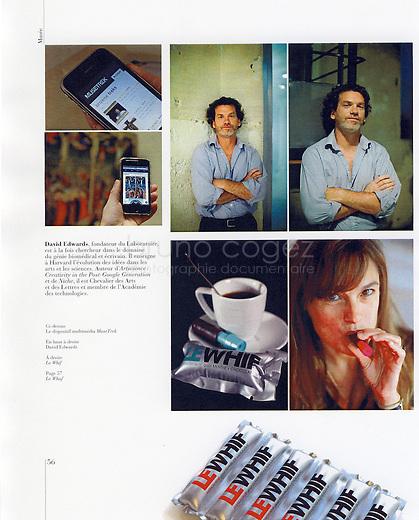 FRANCE, Paris, 2009..Brochure presentation of Le Laboratoire in FMR Magazine..FRANCE, Paris, 2009..Article sur le Laboratoire dans la revue FMR..© Bruno Cogez