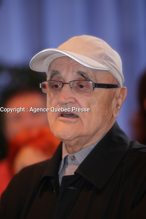 August 27 2012 - Montreal (Qc) CANADA - <br /> The jury of the 2012 World Film Festival at  Montreal City hall.<br />  -  Serge Losique<br /> <br /> <br />  File Photo Agence Quebec Presse - Pierre Roussel