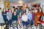 Jennifer McLoughlin celebrating her 18th birthday at her home in Lissanearla Tralee on Saturday.<br /> Seated l to r: Seamus, Jennifer, Madeline and Jamie McLoughlin.