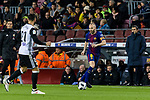 Andres Iniesta of FC Barcelona in action during the Copa Del Rey 2017-18 match between FC Barcelona and Valencia CF at Camp Nou Stadium on 01 February 2018 in Barcelona, Spain. Photo by Vicens Gimenez / Power Sport Images