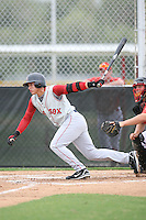August 14, 2008: Joantoni Garcia (13) of the GCL Red Sox. Photo by: Chris Proctor/Four Seam Images
