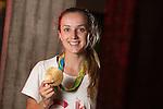 Olympic gold medalist Elinor Barker<br /> BBC Wales<br /> 01.09.16<br /> ©Steve Pope Sportingwales