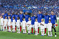 Lyon, France - Saturday June 09, 2018: Men's National Team vs France during an international friendly match between the men's national teams of the United States (USA) and France (FRA) at Groupama Stadium.