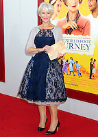 """World Premiere Of Dreamworks Pictures' """"The Hundred-Foot Journey"""""""