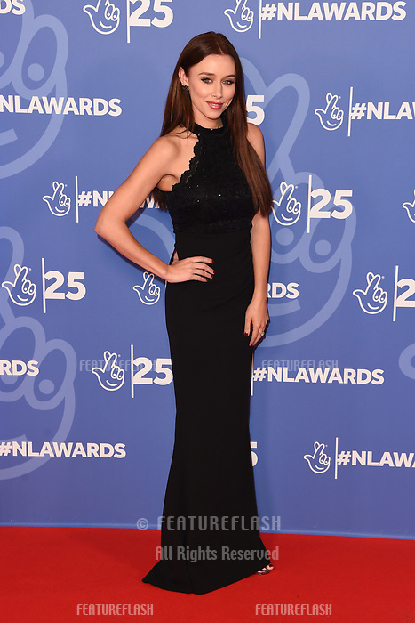 LONDON, UK. October 15, 2019: Una Healy at the National Lottery Awards 2019, London.<br /> Picture: Steve Vas/Featureflash