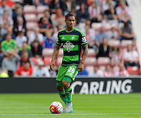 Kyle Naughton of Swansea City during the Barclays Premier League match between Sunderland and Swansea City played at Stadium of Light, Sunderland