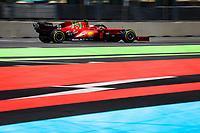 6th June 2021; F1 Grand Prix of Azerbaijan, Race Day;  55 SAINZ Carlos, Scuderia Ferrari SF21, action during the Formula 1 Azerbaijan Grand Prix 2021 at the Baku City Circuit