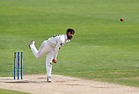 Hamid Qadri bowls for Kent during Kent CCC vs Sussex CCC, LV Insurance County Championship Group 3 Cricket at The Spitfire Ground on 11th July 2021