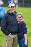 KIWI SPOTTING: Tom Lane and Christen Hayde:  CCI4* CROSS COUNTRY: 2014 GBR-Land Rover Burghley Horse Trial (Saturday 6 September) CREDIT: Libby Law COPYRIGHT: LIBBY LAW PHOTOGRAPHY - NZL