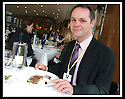 16/03/2009  Copyright Pic: James Stewart.File Name : sct_jspa03_parliament.DAILY MAIL REPORTER JONATHAN BROCKLEBANK TRIES OUT THE BARGAIN FOOD AT THE SCOTTISH PARLIAMENT'S MEMBERS RESTAURANT WASHED DOWN BY A NOT SO INEXPENSIVE WINE......James Stewart Photography 19 Carronlea Drive, Falkirk. FK2 8DN      Vat Reg No. 607 6932 25.Telephone      : +44 (0)1324 570291 .Mobile              : +44 (0)7721 416997.E-mail  :  jim@jspa.co.uk.If you require further information then contact Jim Stewart on any of the numbers above.........