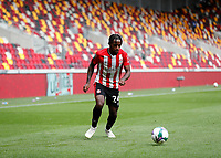 6th September 2020; Brentford Community Stadium, London, England; English Football League Cup, Carabao Cup, Football, Brentford FC versus Wycombe Wanderers; Tariqe Fosu of Brentford