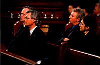 Funerailles de Gratien Gelinas, <br /> 19 mars 1999, a la Basilique Notre-Dame.<br /> <br /> PHOTO : Agence Quebec Presse - Pierre Roussel