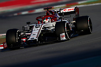 #99 Antonio Giovinazzi; Alfa Romeo Racing. Formula 1 World championship 2020, Winter testing days #1 2020 Barcelona, 19-21 February 2020.<br /> Photo Federico Basile / Insidefoto
