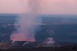 Halema'uma'u Crater, Kilauea Caldera, Hawaii