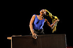 SONGOOK YAAKAAR..AFFRONTER L ESPOIR....Choregraphie : ACOGNY Germaine DOUSSAINT Pierre..Direction artistique : ACOGNY Germaine DOUSSAINT Pierre..Compositeur : BOUILLON Fabrice..Compagnie : Compagnie Germaine Acogny..Lumiere : MUHLBERGER Horst..Costumes : DIEDHOU Angelique..Avec :..ACOGNY Germaine....Avec :..Creation video : KOENIG Fred..Lieu : Centre National de la danse..Cadre : Festival d Automne 2010..Ville : Pantin..Le : 12 10 2010..© Laurent PAILLIER / photosdedanse.com..All rights reserved