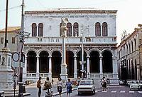 Italy: Padua--Loggia Del Consielio, or Great Guardroom. A Renaissance structure in the Piazza Dei Signori. Photo '83.