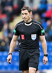 St Johnstone v Kilmarnock…15.10.16.. McDiarmid Park   SPFL<br />Referee Steven MacLean<br />Picture by Graeme Hart.<br />Copyright Perthshire Picture Agency<br />Tel: 01738 623350  Mobile: 07990 594431