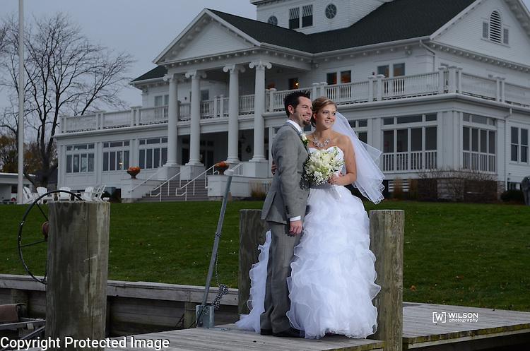Dustin & Kelly Wilhelme wedding in Appleton, Wis., on November 7, 2014.