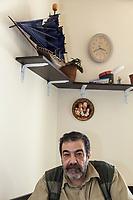 "Armenia. Yerevan. Hovhannes Galajyan. Chief Editor of ""Iravunk"" Newspaper. Yerevan, sometimes spelled Erevan, is the capital and largest city of Armenia. 11.10.2019 © 2019 Didier Ruef"