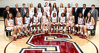 Stanford Women's basketball team photo. Photo taken on Wednesday, October 2, 2013