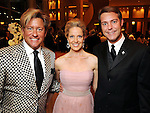 From left: Brian Teichman, honoree Melissa King and Paul David Van Atta at the Winter Ball benefiting the Houston Gulf Coast/South Texas Chapter of the Crohn's & Colitis Foudation of America at the InterContinental Hotel Saturday Jan. 23,2010.(Dave Rossman/For the Chronicle)