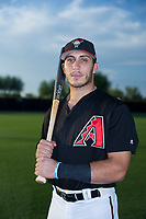 AZL Diamondbacks Renae Martinez (33) poses for a photo before a game against the AZL Padres 2 on August 29, 2017 at Salt River Fields at Talking Stick in Scottsdale, Arizona. AZL Diamondbacks defeated the AZL Padres 2 4-3. (Zachary Lucy/Four Seam Images)