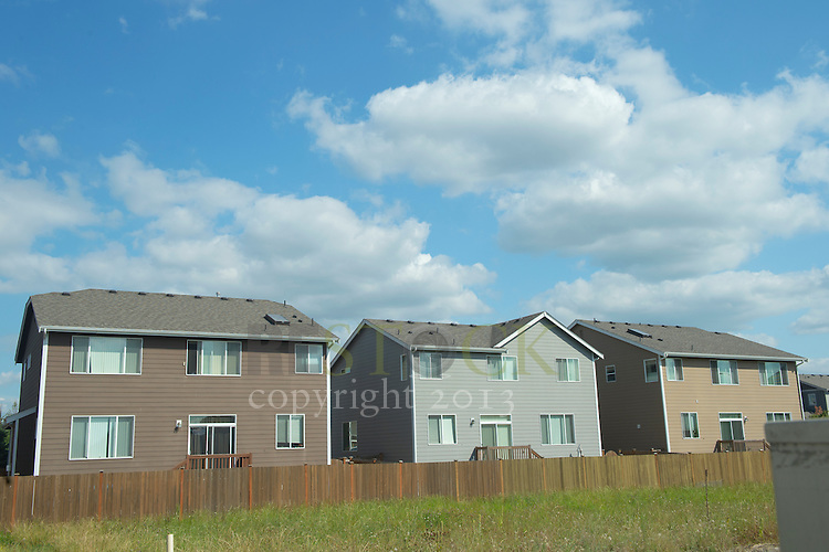 Back of Three Houses