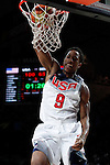 United States´s DeRozan during FIBA Basketball World Cup Spain 2014 final match between United States and Serbia at `Palacio de los deportes´ stadium in Madrid, Spain. September 14, 2014. (ALTERPHOTOSVictor Blanco)