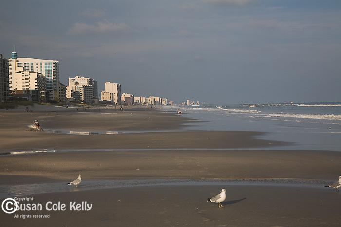 Beach scene, Atlantic Beach, SC