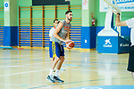 Player Joan Sastre during the second season of training of Spanish National Team of Basketball 2019 . July 27, 2019. (ALTERPHOTOS/Francis González)