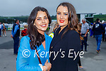 Enjoying the Ladies Day at the Listowel Races on Friday, l to r: Eimear O'Mahoney and Aisling O'Brien from Lixnaw.